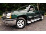 2004 Chevrolet Silverado 1500 Dark Green Metallic