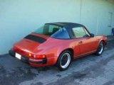 1984 Porsche 911 Burgundy