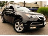 2011 Crystal Black Pearl Acura MDX Technology #95583415
