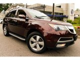 2011 Dark Cherry Pearl Acura MDX Technology #95583411
