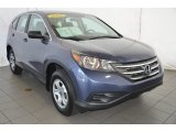 2012 Twilight Blue Metallic Honda CR-V LX #95583367