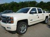2014 White Diamond Tricoat Chevrolet Silverado 1500 High Country Crew Cab 4x4 #95583436