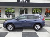 2012 Twilight Blue Metallic Honda CR-V EX-L #95608403