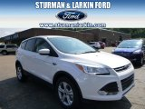 2014 Oxford White Ford Escape SE 1.6L EcoBoost 4WD #95608226