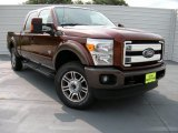 2015 Bronze Fire Ford F250 Super Duty King Ranch Crew Cab 4x4 #95608313