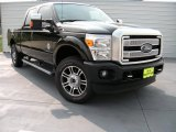 2015 Tuxedo Black Ford F250 Super Duty Platinum Crew Cab 4x4 #95608311