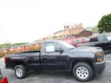 2014 Tungsten Metallic Chevrolet Silverado 1500 WT Regular Cab #95608213