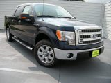 2014 Blue Jeans Ford F150 XLT SuperCrew #95608306