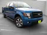 2014 Blue Flame Ford F150 FX2 SuperCrew #95608305