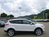 2014 White Platinum Ford Escape Titanium 2.0L EcoBoost 4WD #95608203