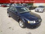 2004 Moro Blue Pearl Effect Audi A4 1.8T quattro Sedan #95608302
