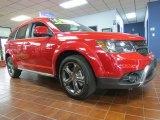 2014 Redline 2-Coat Pearl Dodge Journey Crossroad #95608288