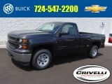 2014 Tungsten Metallic Chevrolet Silverado 1500 WT Regular Cab 4x4 #95608435