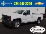 2014 Summit White Chevrolet Silverado 1500 WT Regular Cab 4x4 #95608431