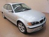 2004 Titanium Silver Metallic BMW 3 Series 330xi Sedan #95608101