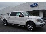 2014 White Platinum Ford F150 Lariat SuperCrew #95608246