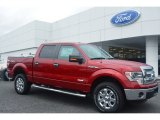 2014 Ruby Red Ford F150 XLT SuperCrew 4x4 #95608244