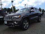2014 Granite Crystal Metallic Jeep Grand Cherokee Overland 4x4 #95652507