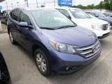 2012 Twilight Blue Metallic Honda CR-V EX-L 4WD #95653072