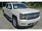 2014 White Diamond Tricoat Chevrolet Silverado 1500 High Country Crew Cab 4x4 #95652987