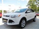 2013 White Platinum Metallic Tri-Coat Ford Escape SEL 2.0L EcoBoost #95652713