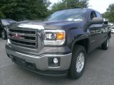 2014 Iridium Metallic GMC Sierra 1500 SLE Double Cab #95652443