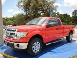 2014 Race Red Ford F150 XLT SuperCab 4x4 #95652697