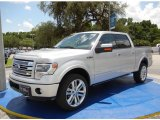 2014 Ingot Silver Ford F150 Limited SuperCrew 4x4 #95652696