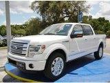 2014 White Platinum Ford F150 Platinum SuperCrew #95652695