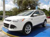 2014 White Platinum Ford Escape Titanium 1.6L EcoBoost #95652693