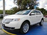 2014 White Platinum Metallic Tri-Coat Lincoln MKX FWD #95652692