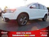 2014 White Dodge Journey Crossroad #95652772