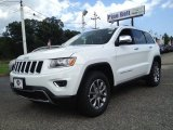 2014 Bright White Jeep Grand Cherokee Limited 4x4 #95652518