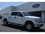 2014 Oxford White Ford F150 XLT SuperCrew 4x4 #95695271
