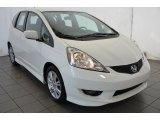 2011 Taffeta White Honda Fit Sport #95695167