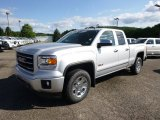 2014 Quicksilver Metallic GMC Sierra 1500 SLT Double Cab 4x4 #95734172