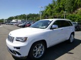 2014 Bright White Jeep Grand Cherokee Summit 4x4 #95734343