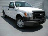 2014 Oxford White Ford F150 XL Regular Cab #95734257
