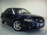 2008 Moro Blue Pearl Effect Audi A4 2.0T Cabriolet #9554940