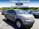 2014 Sterling Gray Ford Explorer XLT 4WD #95734066