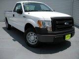 2014 Oxford White Ford F150 XL Regular Cab #95734248