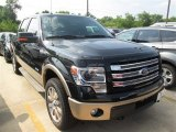 2014 Tuxedo Black Ford F150 King Ranch SuperCrew 4x4 #95733935