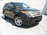 2014 Tuxedo Black Ford Explorer XLT #95734246