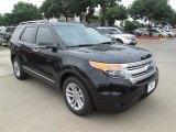 2014 Tuxedo Black Ford Explorer XLT #95733933