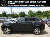 2014 Black Forest Green Pearl Jeep Grand Cherokee Limited 4x4 #95734048