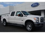 2015 White Platinum Ford F250 Super Duty King Ranch Crew Cab 4x4 #95734126