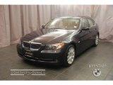 2007 Monaco Blue Metallic BMW 3 Series 335i Sedan #9552925