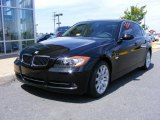 2008 Jet Black BMW 3 Series 335i Sedan #9566646