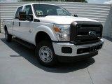 2015 Oxford White Ford F250 Super Duty XL Crew Cab 4x4 #95734268