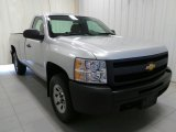 2012 Silver Ice Metallic Chevrolet Silverado 1500 Work Truck Regular Cab 4x4 #95734362